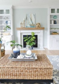Inspiring Living Room Ideas With Beachy And Coastal Style10