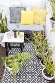 Inspiring Wooden Floor Design Ideas On Balcony For Your Apartment 28