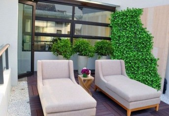 Inspiring Wooden Floor Design Ideas On Balcony For Your Apartment 51
