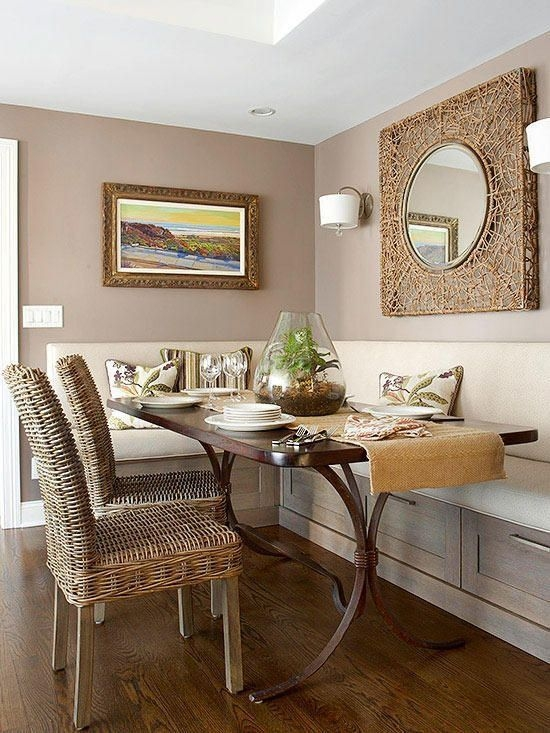 Interesting Dinning Table Design Ideas For Small Room15