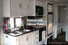 Lovely Rv Cabinet Makeover Ideas28