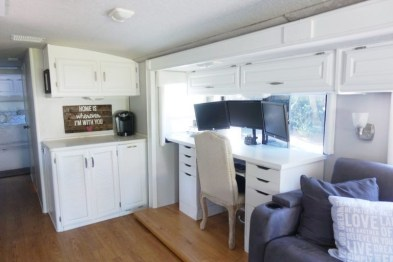 Lovely Rv Cabinet Makeover Ideas42