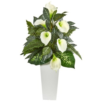 Lovely Window Design Ideas With Vase Flower Ornament20