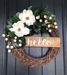 Pretty Hang Wreath Ideas In Door For Summer Time 20