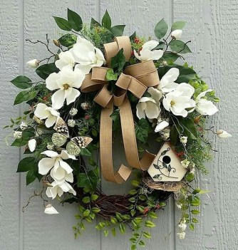 Pretty Hang Wreath Ideas In Door For Summer Time 24