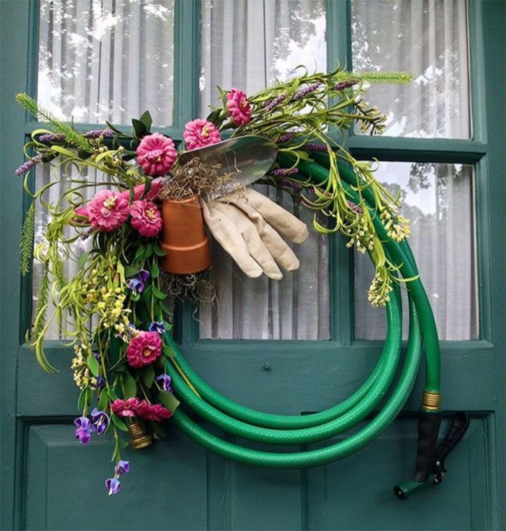 Pretty Hang Wreath Ideas In Door For Summer Time 28
