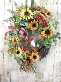 Pretty Hang Wreath Ideas In Door For Summer Time 31