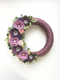 Pretty Hang Wreath Ideas In Door For Summer Time 32