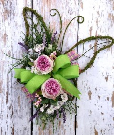 Pretty Hang Wreath Ideas In Door For Summer Time 33
