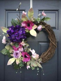 Pretty Hang Wreath Ideas In Door For Summer Time 34