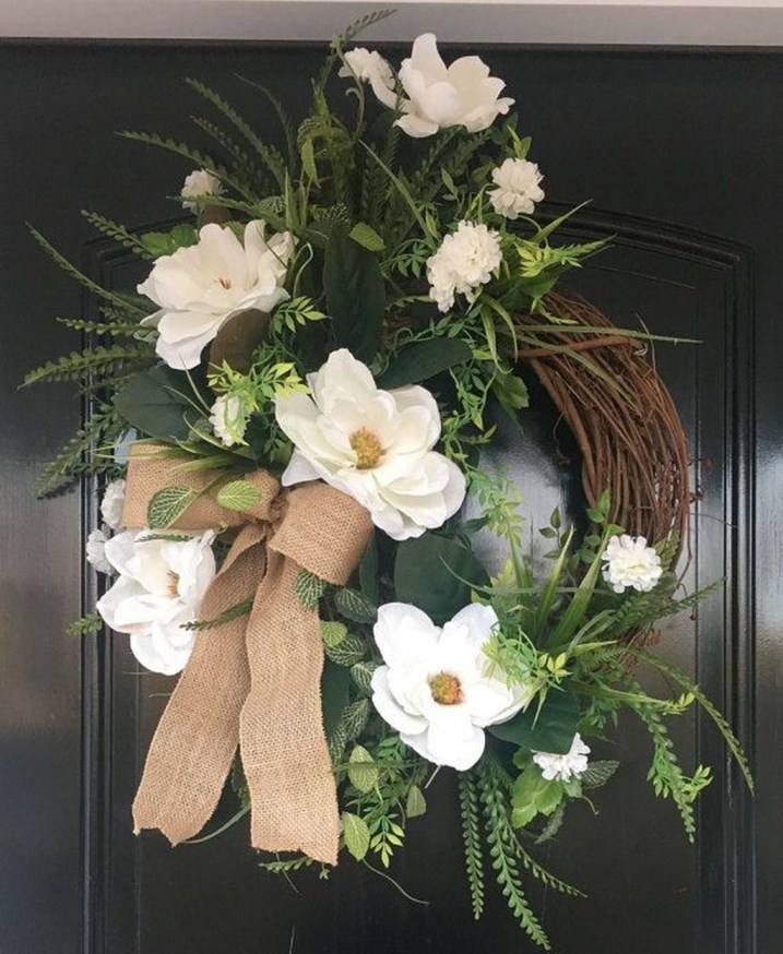 Pretty Hang Wreath Ideas In Door For Summer Time 45