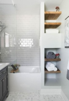 Smart Remodel Bathroom Ideas With Low Budget For Home 49