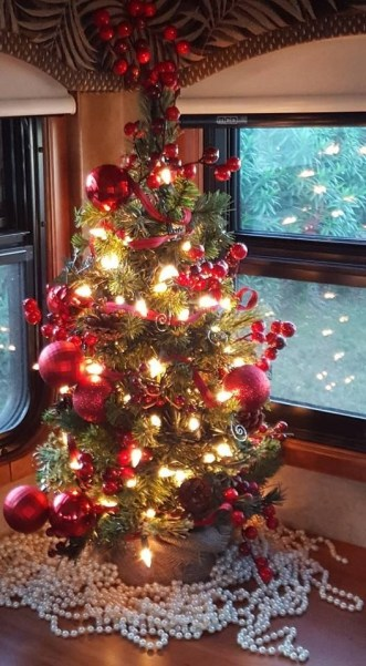 Splendid Christmas Rv Decorations Ideas For Valuable Moment20