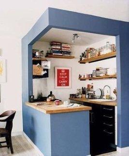 Unique Kitchen Design Ideas For Apartment09
