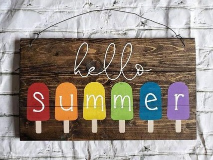 Unique Summer Decor Ideas Just For You 44