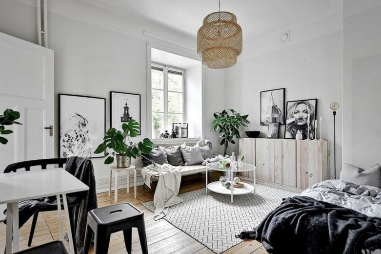 Unodinary Small Apartment Decor Ideas For Girls 14