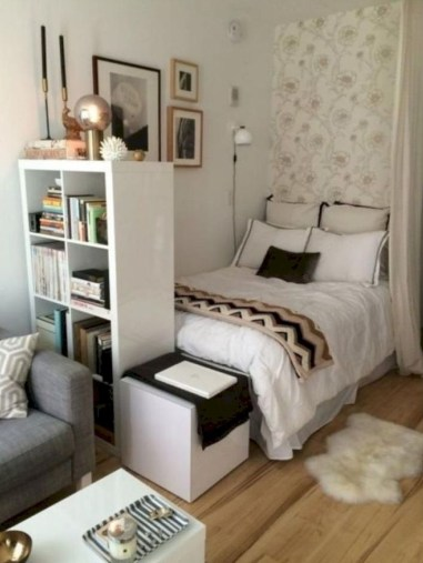 Unodinary Small Apartment Decor Ideas For Girls 15