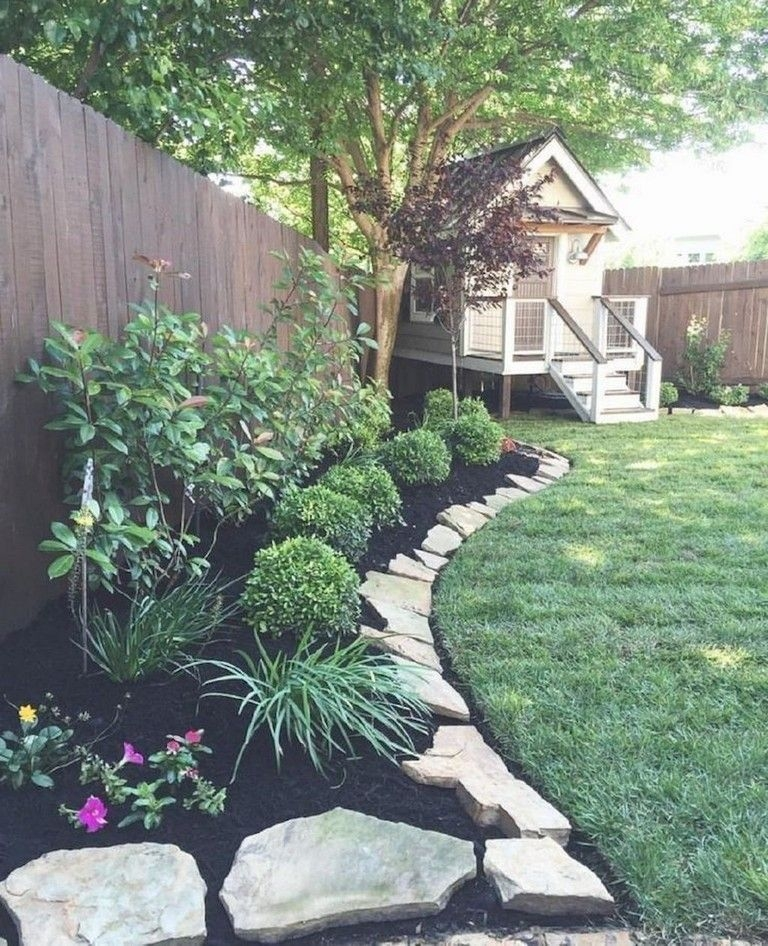 44 Amazing Front Yard Landscaping Ideas With Low ... on Low Maintenance Backyard Design  id=38870