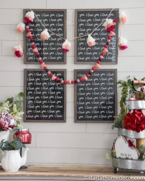 Beautiful Home Interior Design Ideas With The Concept Of Valentines Day19