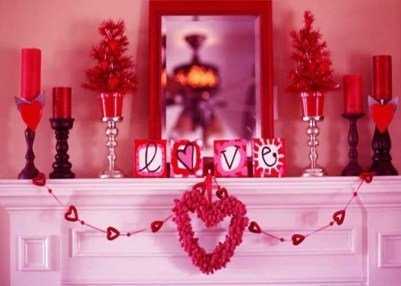 Beautiful Home Interior Design Ideas With The Concept Of Valentines Day22