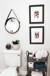 Cute Small Bathroom Decor Ideas On A Budget To Try02