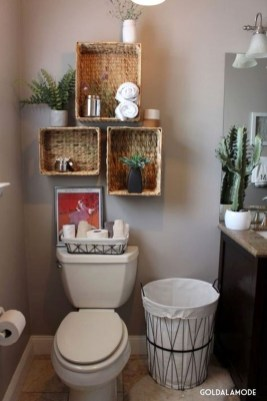 Cute Small Bathroom Decor Ideas On A Budget To Try24