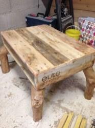 Fantastic Diy Projects Mini Pallet Coffee Table Design Ideas10