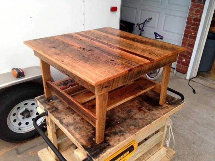 Fantastic Diy Projects Mini Pallet Coffee Table Design Ideas14