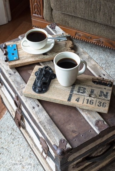 Fantastic Diy Projects Mini Pallet Coffee Table Design Ideas42