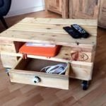Fantastic Diy Projects Mini Pallet Coffee Table Design Ideas44