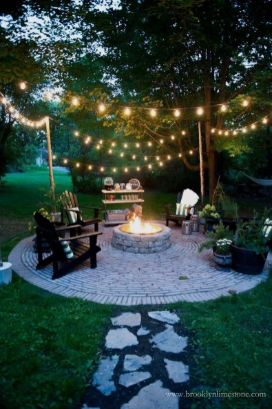 Inspiring Outdoor Fire Pit Design Ideas To Try09