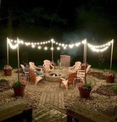 Inspiring Outdoor Fire Pit Design Ideas To Try11