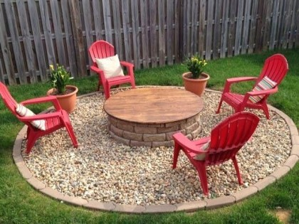 Inspiring Outdoor Fire Pit Design Ideas To Try16