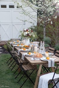 Magnificient Outdoor Summer Decorations Ideas For Party19