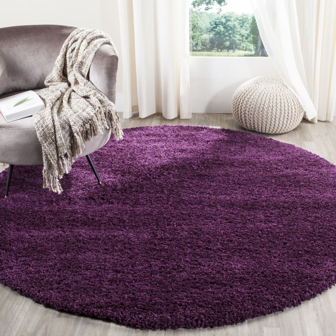 Modern Living Room Ideas With Purple Color Schemes43