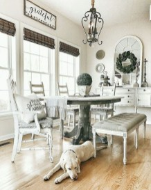 Outstanding Farmhouse Dining Room Design Ideas To Try38