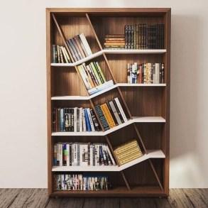 Trendy Bookshelf Designs Ideas Are Popular This Year17