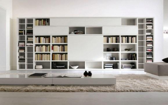 Trendy Bookshelf Designs Ideas Are Popular This Year29