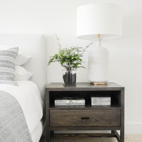 Alluring Nightstand Designs Ideas For Your Bedroom43