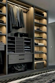 Best Minimalist Walk Closets Design Ideas For You08