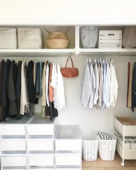 Best Minimalist Walk Closets Design Ideas For You22