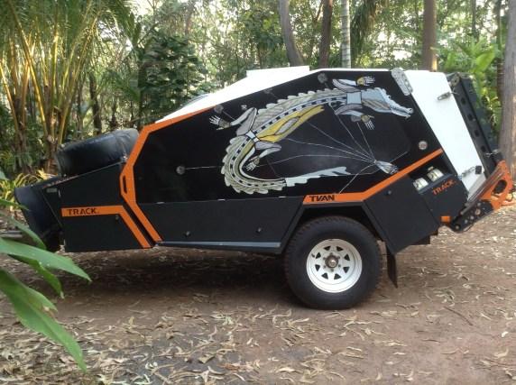 Best Tvan Camper Hybrid Trailer Gallery Ideas11