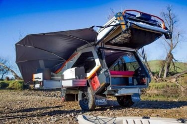 Best Tvan Camper Hybrid Trailer Gallery Ideas18