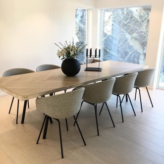 Charming Diy Wooden Dining Table Design Ideas For You26