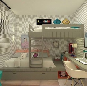 Cute Kids Bedroom Design Ideas To Try Now35