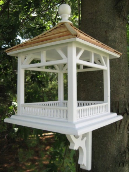 Elegant Bird House Ideas For Your Backyard Space10