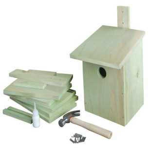 Elegant Bird House Ideas For Your Backyard Space11