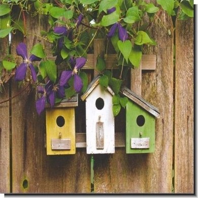 Elegant Bird House Ideas For Your Backyard Space19
