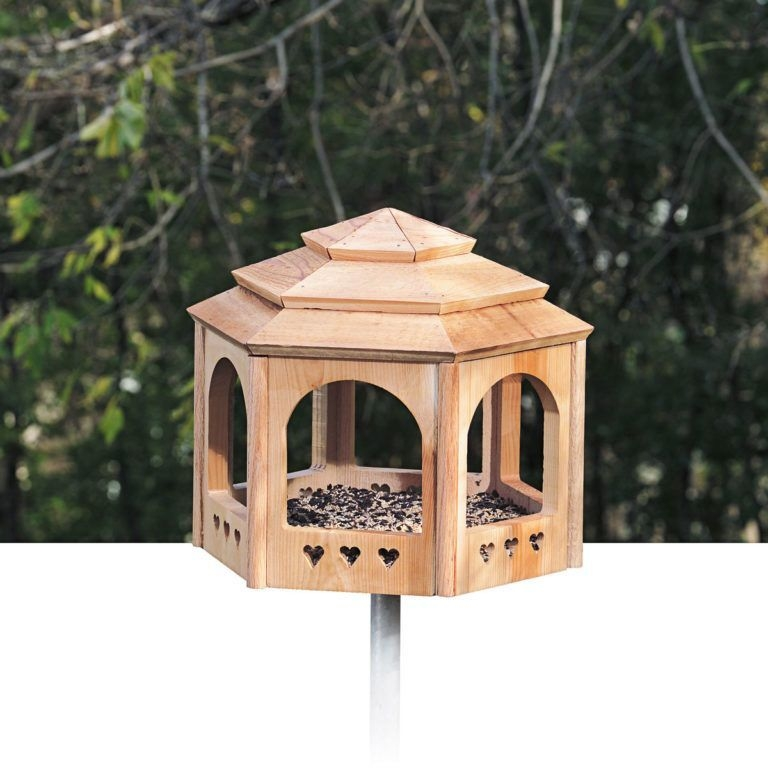 Elegant Bird House Ideas For Your Backyard Space31