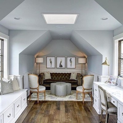 Fabulous Attic Design Ideas To Try This Year28